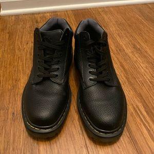Doc Martens Harrisfeild Black leather Ankle Boots